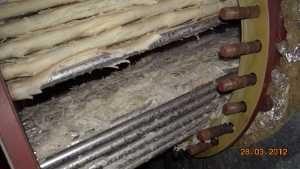 Heater bundle in boiler