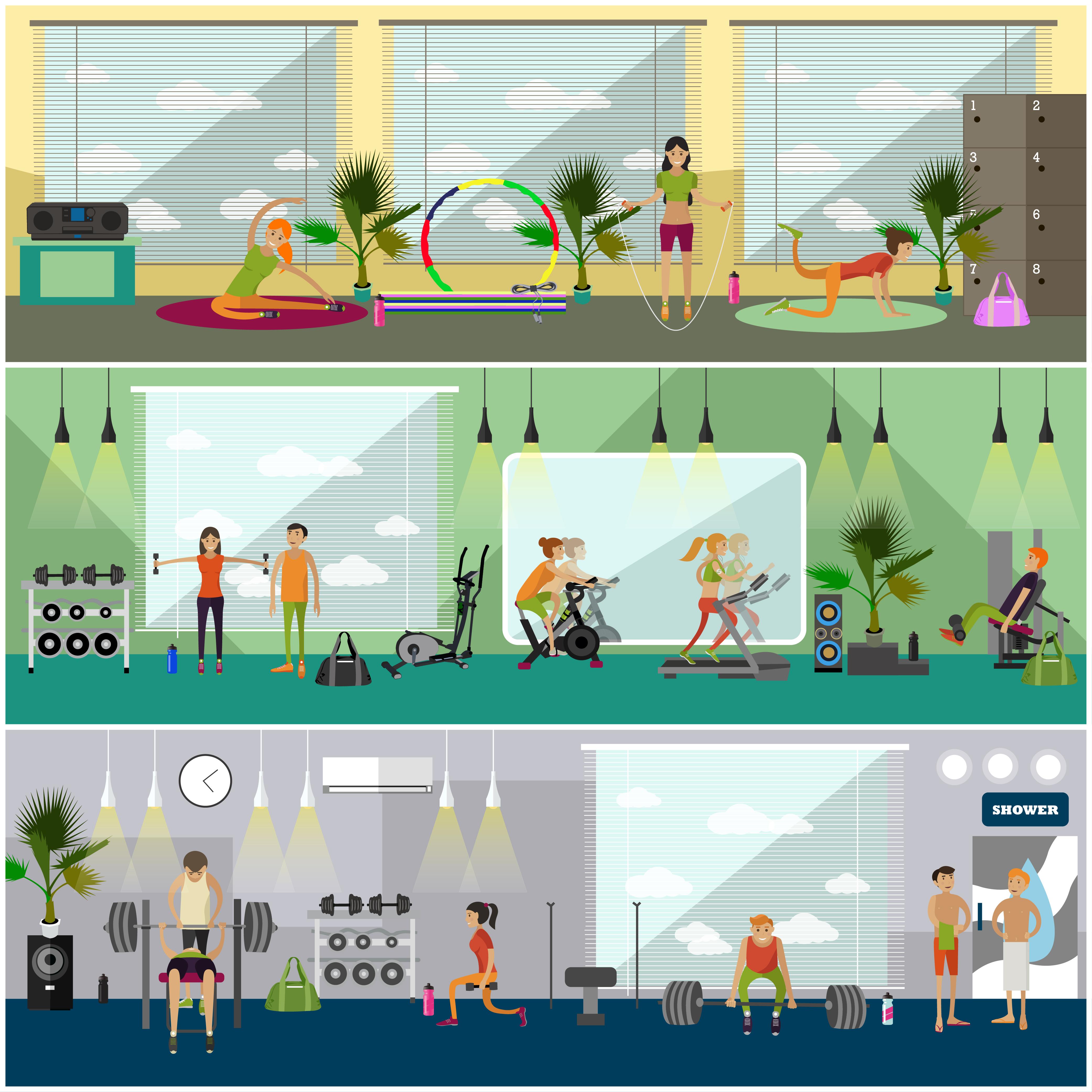 Water Treatment Fitness Club