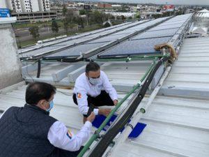 Solar heat system